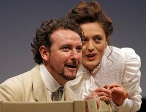 Brian Friel, a playwright who has translated Chekhov, here spins his own stories around Chekhov characters. Afterplay and The Yalta Game are short, intimate two-handers. In both cases, the onstage action isn't the whole story.