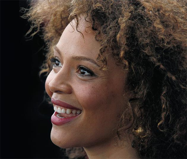 Back in the UK: Carmen Ejogo spent ten years in the USA