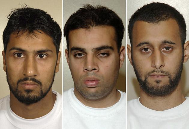 The jury found Abdulla Ahmed Ali, Assad Sarwar and Tanvir Hussain guilty of conspiracy to commit murder.