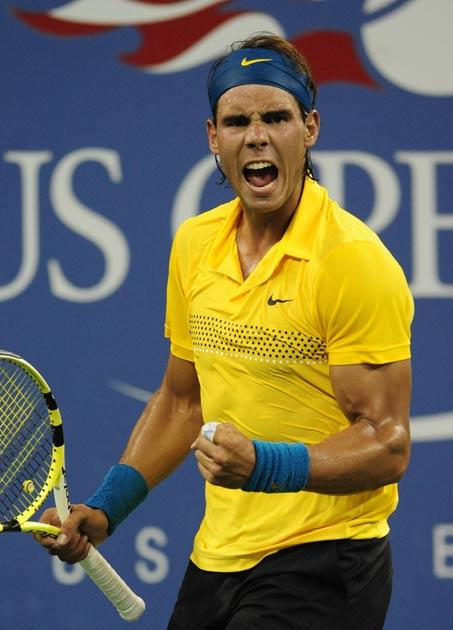 Nadal said he had no problem with the man