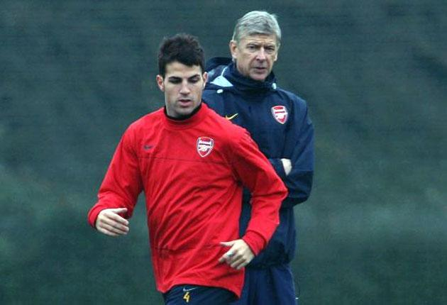 Arsene Wenger signed Cesc Fabregas from Barcelona when the midfielder was a 16-year-old