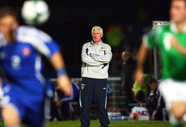 'I cannot start to tell you how disappointed I am,' said manager Nigel Worthington after his team's defeat, 'I am gutted'