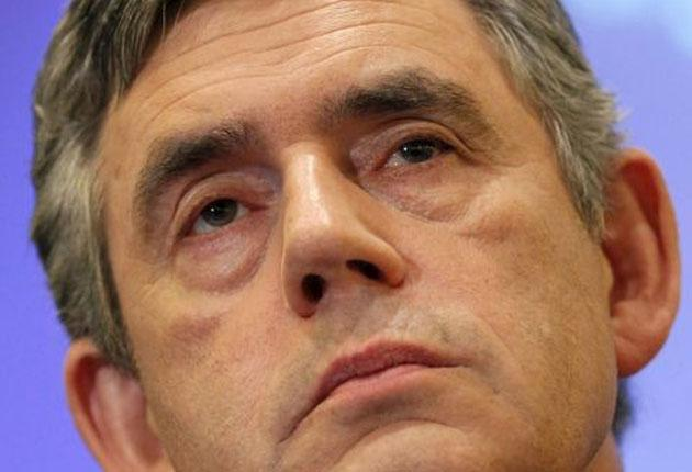 Gordon Brown chairs the Government's Democratic Renewal Council