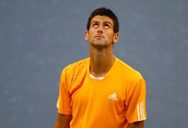 Novak Djokovic rues failing to take advantage of an early break against Roger Federer