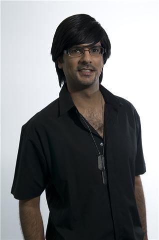 Shak, the presenter of our new series of Bollywood podcasts