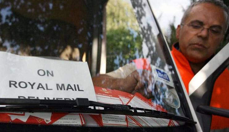 Nader Moradie delivers letters to help clear Royal Mail's backlo
