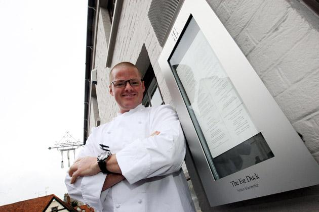 Heston Blumenthal's The Fat Duck was hit by an outbreak of norovirus earlier this year