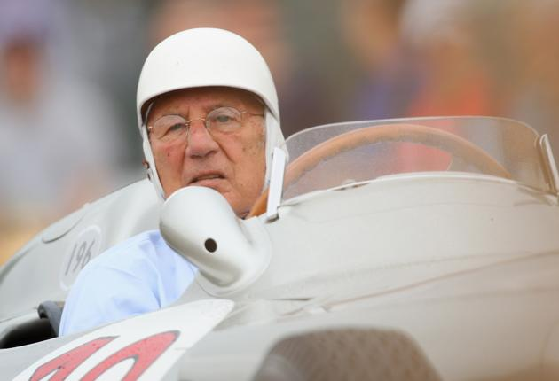 Sir Stirling Moss at 80 retains his lust for life and for motor racing
