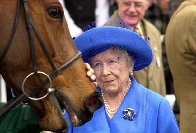 Out of horse's mouth? The Queen Mother's new biographer was given access denied to others