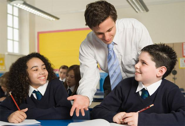 Young teachers generate better relationships with pupils, according to the former head of the Government's exams watchdog