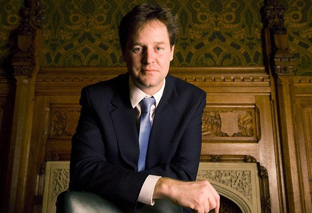 Clegg: blocks on airport expansion and investment in green technologies are vital