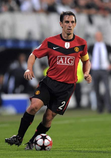 <b>Gary Neville, 34</b><br/> Mr Manchester United is now 34, and although he's been plagued by injuries the last couple of seasons, when fit he's still giving younger contenders Wes Brown and Rafael Da Silva a run for their money. Should he stay free from