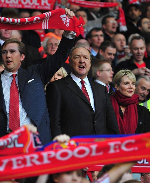 Liverpool co-owners Tom Hicks (pictured) and George Gillett released a joint statement saying reports were inaccurate