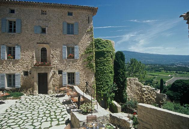 French leave: Hotel Crillon le Brave combines rustic simplicity with elegant design and great views of the Provençal landscape
