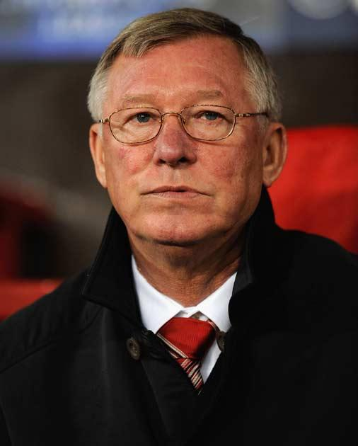 Ferguson was furious after United's draw with Sunderland at the weekend