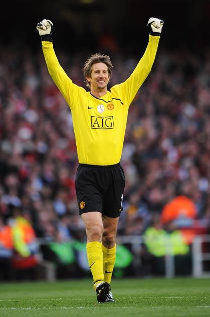 Van der Sar has not featured for United this season