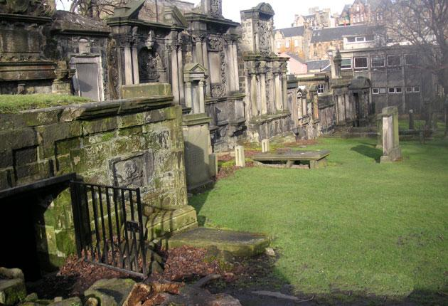Edinburgh Historic Graveyards