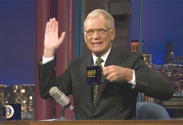 David Letterman used his show to apologise to his wife Regina Lasko