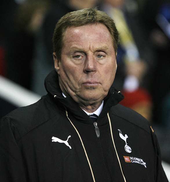 <b>Rich List 2009: The top 10 managers</b><br/> 7) Harry Redknapp - £10m - Tottenham Hotspur