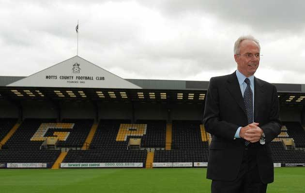 <b>Rich List 2009: The top 10 managers</b><br/> 5) Sven-Goran Eriksson - £15m - Notts County