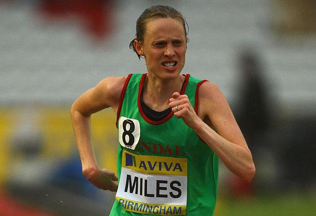 'For a club like ours to suddenly have four girls running internationally is amazing,' says Gemma Miles, who competes in today's World Half Marathon