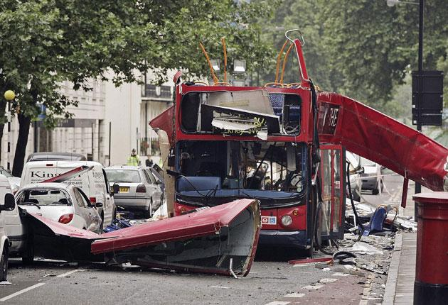 Under attack: The aftermath of the 7/7 bombings in London's Tavistock Square