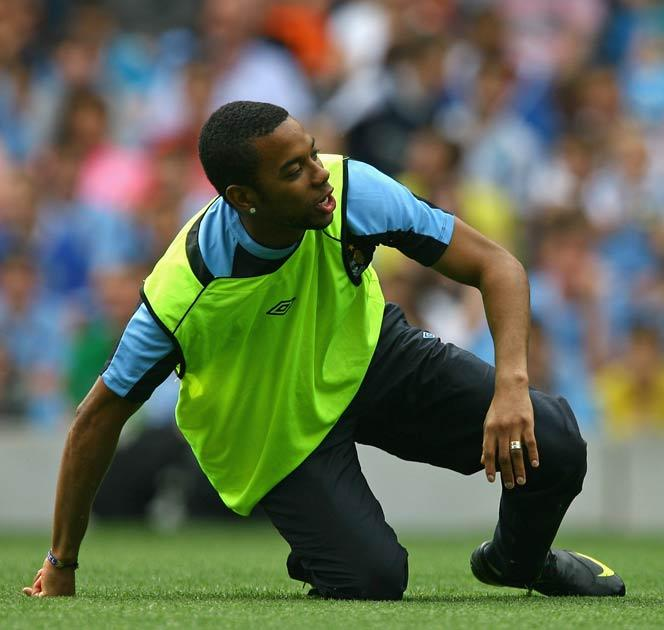 Robinho is the Premier League's record signing