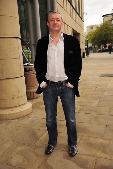 Louis Walsh in Edinburgh in August 2009