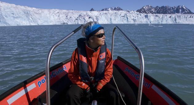 Heading north: Sara Wheeler is an interloper in the predominately masculine world of Arctic exploration