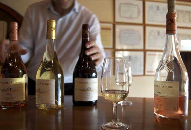 Height and winds give Château de Crémat wines their unique flavour