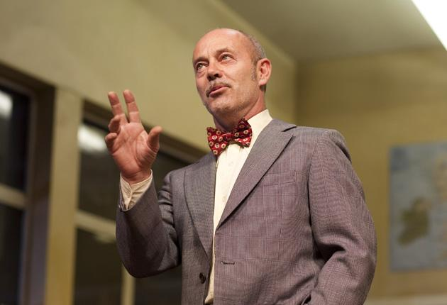 Funny peculiar: Keith Allen in Trevor Griffiths's 'Comedians'