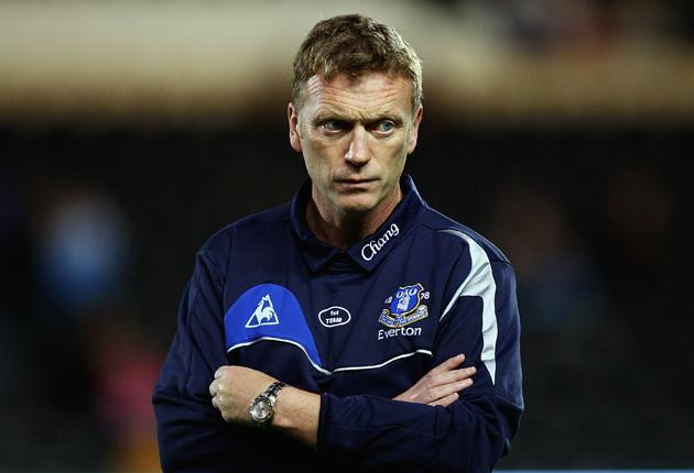 David Moyes blames injuries and late recruitment for Everton's slow start to the season