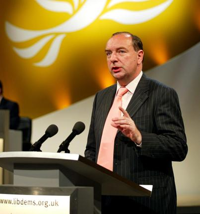 Norman Baker: 'We had a lively conference where members decided policy - a practice the Tories and Labour dare not allow happen '