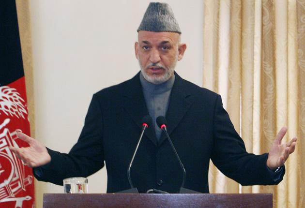 The report brings Hamid Karzai's vote tally below the 50 per cent threshold