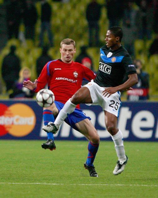 Valencia scored the winner for United last night