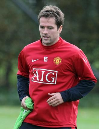 Michael Owen has had only limited pitch time at Old Trafford since his summer move