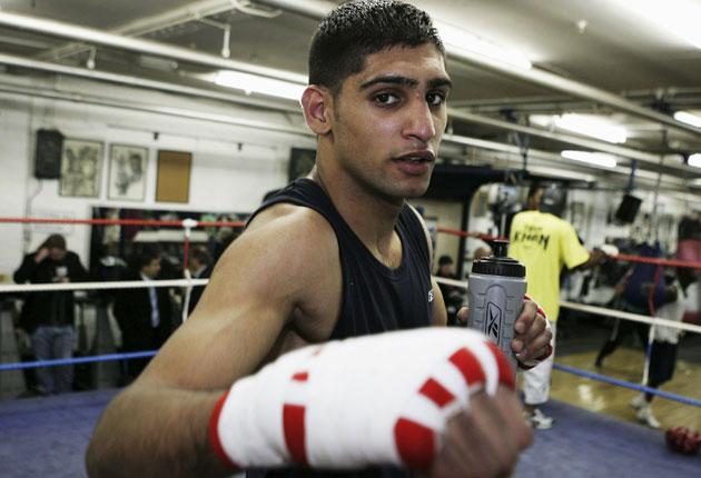 'I seem to get recognised more there than I do here,' says Amir Khan of his adopted home in Los Angeles. 'In America I've not come across any hate'