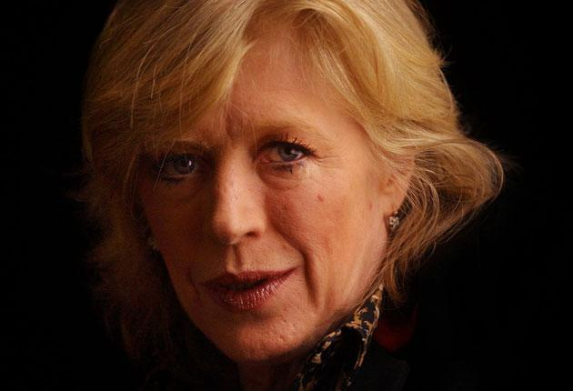 Marianne Faithfull pictured in 2002