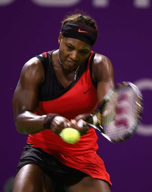 Serena benefitted from Safina pulling out