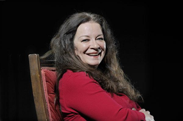 In the psychotherapist's chair: Clare Higgins has trained in the subject, and mentored others. Now she is playing Melanie Klein, one of of its pioneers, on stage