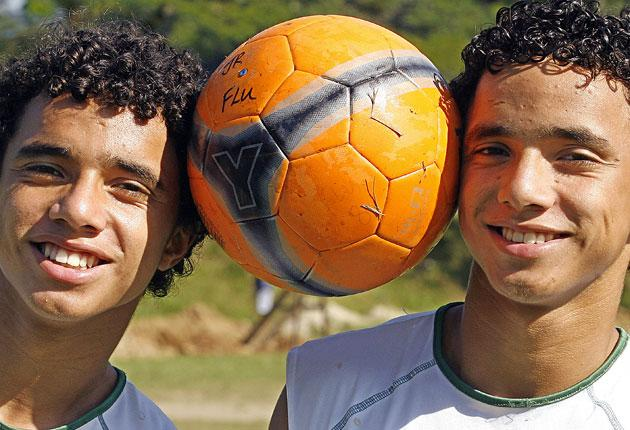 Fabio da Silva (left) was booked instead of twin brother Rafael