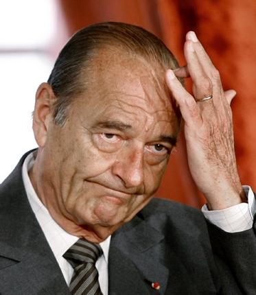 Jacques Chirac has been accused by one French newspaper of handing out fictitious jobs 'like baguettes at a bakery'