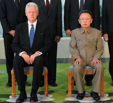 Bill Clinton met Kim Jong-il in Pyongyang in August but there is strong evidence that the North Korean leader has used lookalikes in the past