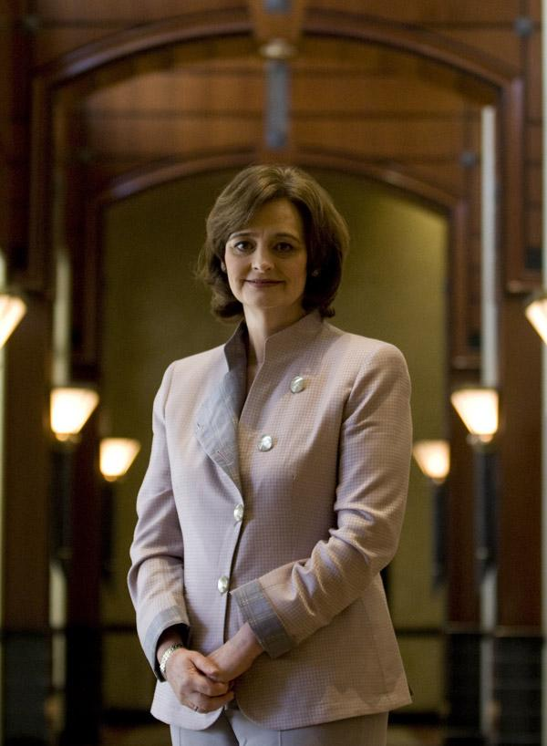 Blair says: 'Two things that the school did in helping with my legal career were drama and public speaking, which gave me confidence in thinking on my feet.'