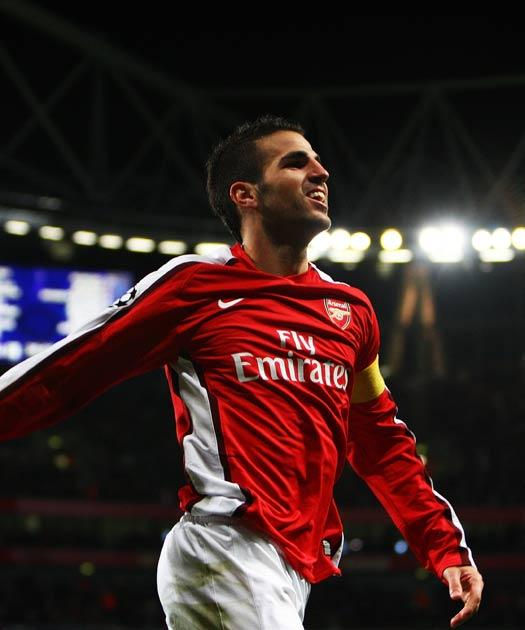 Fabregas scored a brace last night