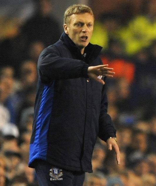 Moyes saw his side slip to their second defeat against Benfica