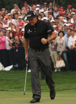'I am playing the best golf of my career,' said Phil Mickelson