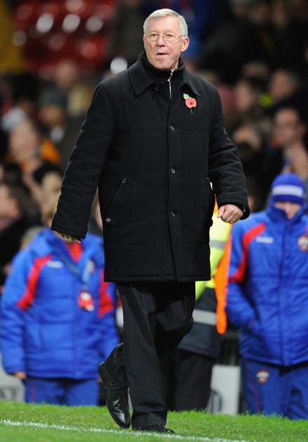 Ferguson was left bemused by the referee's decisions
