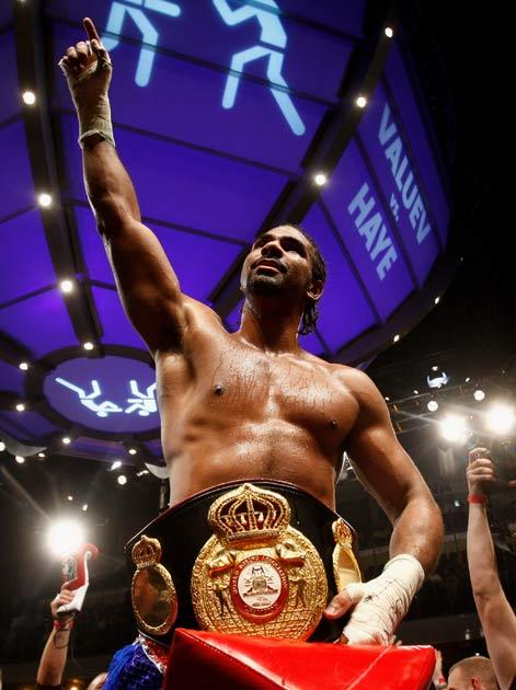 Haye wants to unify the belts
