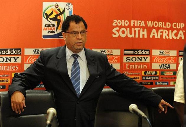Danny Jordaan says England have not translated their 'football brand' into serious influence